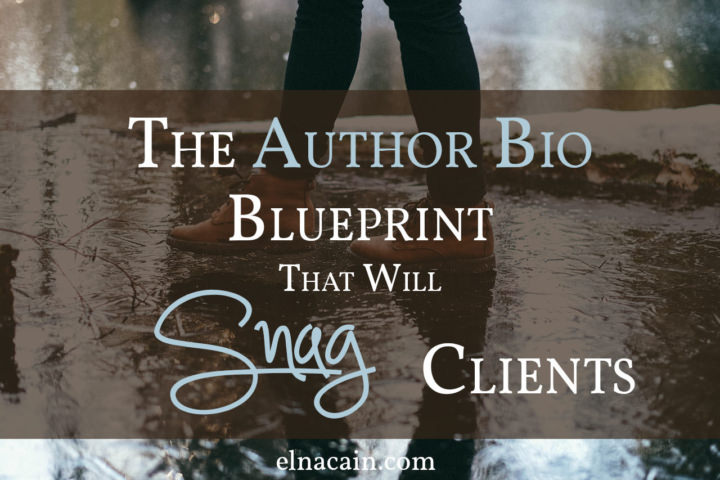 The author bio blueprint that will snag clients elna cain you slave away at writing the perfect guest post for a very popular website you cant believe they accepted your pitch but you push your excitement aside malvernweather Images