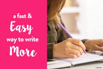 A Fast and Easy Solution to Writing More When You're a WAHM