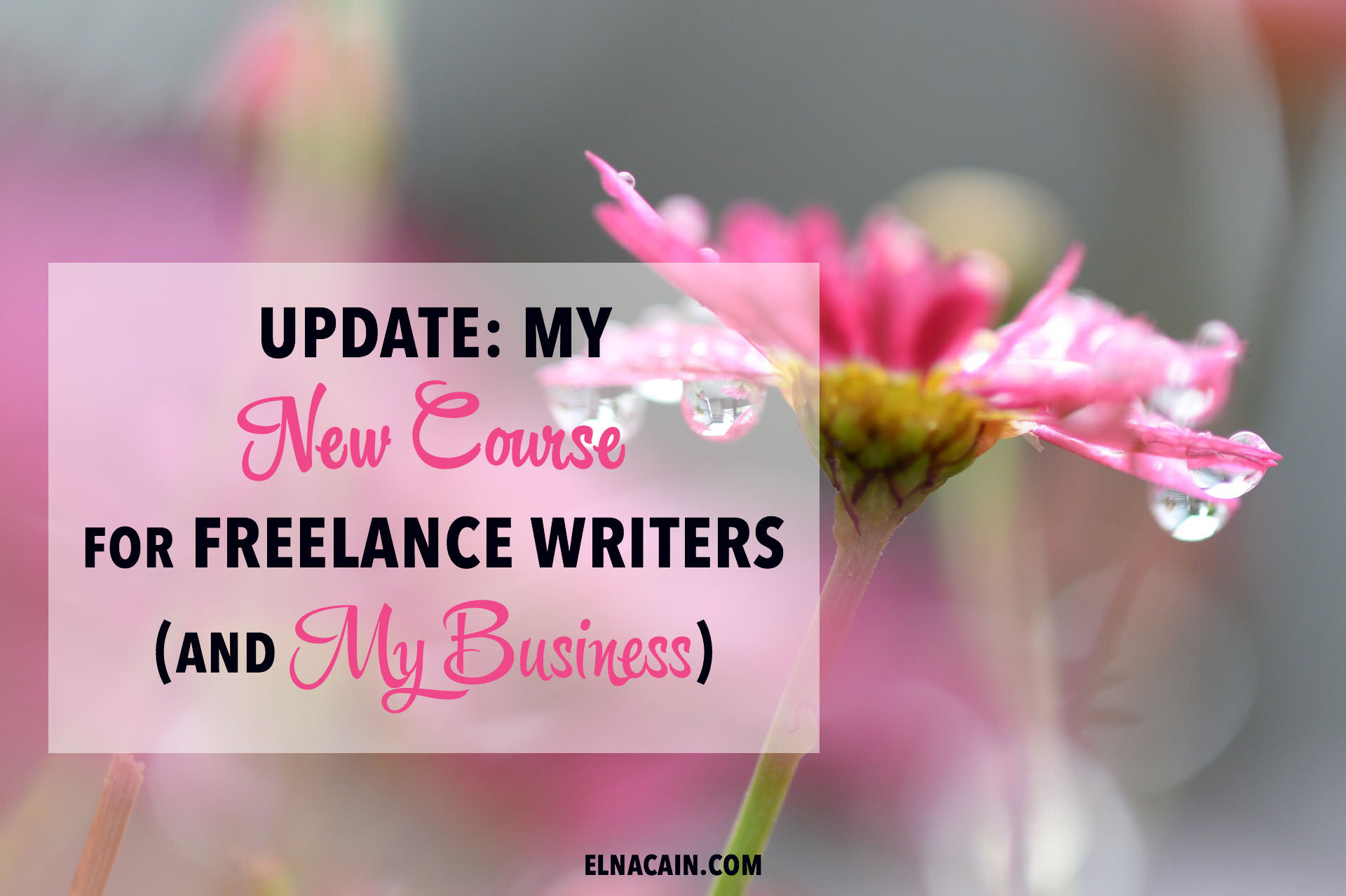 freelance writing course Our freelance writing course will teach you how to make money writing online.