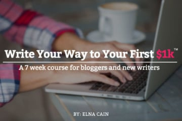 Introducing Write Your Way to Your First $1k (With an Exclusive Sample Lesson)