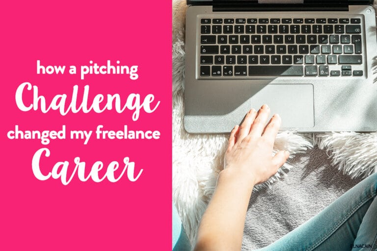 How a Pitching Challenge Changed My Freelance Writing Career