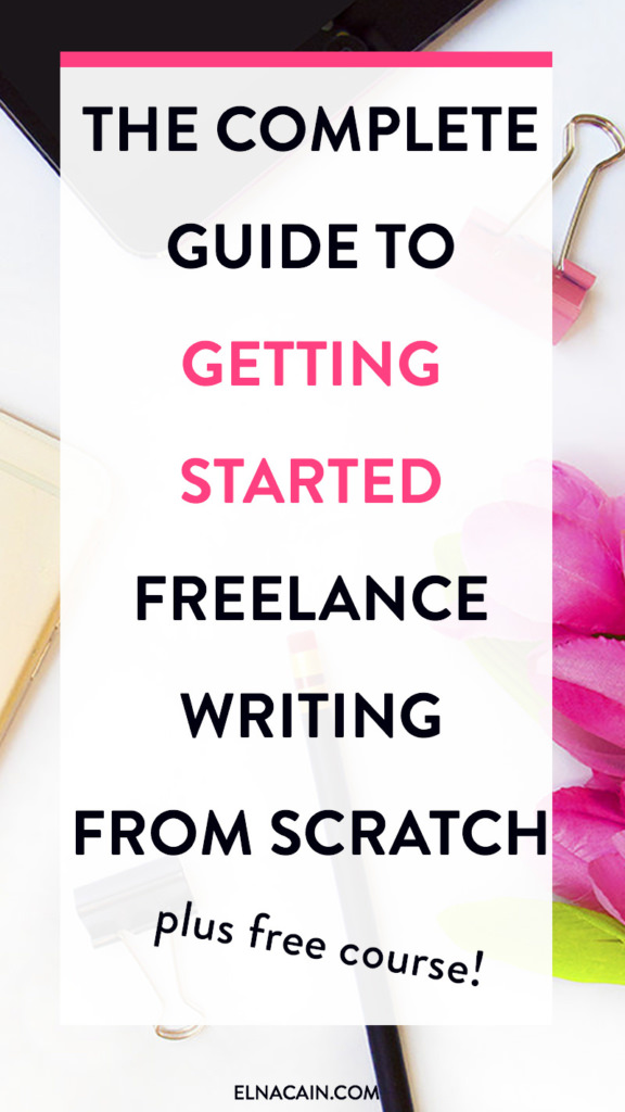 Starting a freelance writing service