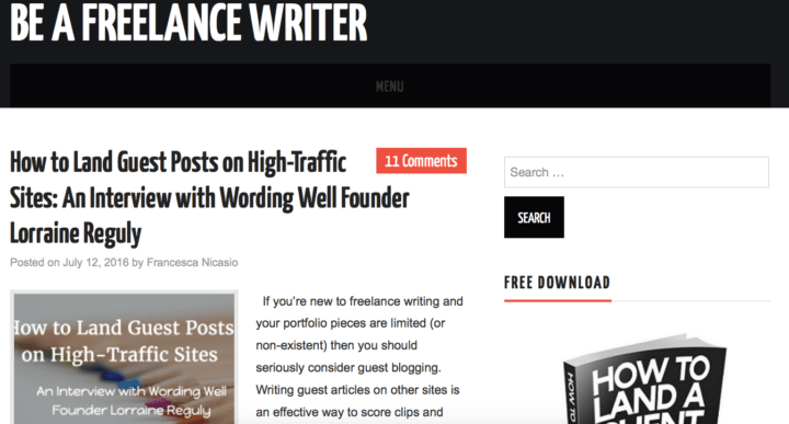 7 Blogs to Help Grow Your Freelance Writing Biz - Elna Cain