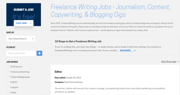 the best lance writing job boards to land your first gig lance writing