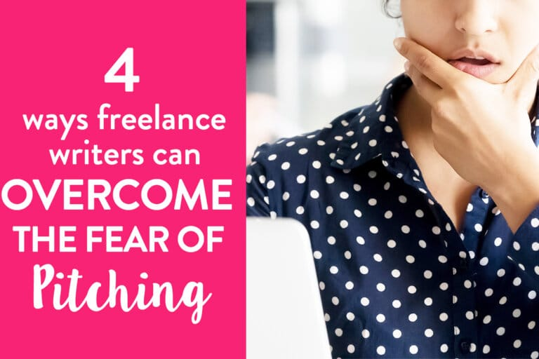 4 Ways Freelance Writers Can Overcome Anxiety When Sending Out the First Pitch