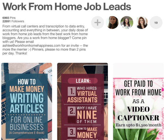 group boards for lance writers elna cain work from home job leads for lance writers