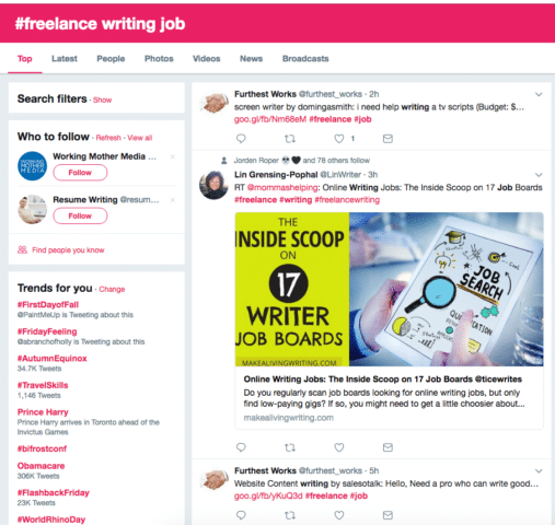 methods to lance writing jobs as a beginner elna cain social media is a goldmine for lance writers it can help you jobs help you connect brands you want to write for network other