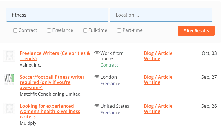 places to land lance writing gigs online elna cain what s also included are related jobs once you click on one of the lance writing job