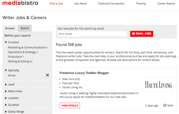 freelance writing online jobs for students