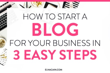 How to Start a Blog for Your Business in 3 Easy Steps