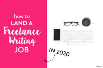 How to Land a Freelance Writing Job in 2020 (as a Beginner)