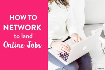 How to Network to Land Online Jobs for Writers