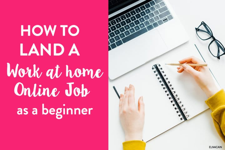 What You Need to Get Work at Home Online Jobs
