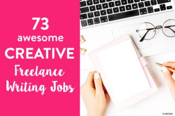 73 Creative Writing Jobs to Make Money With Your Hobby