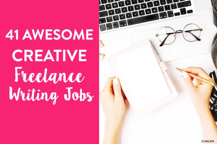 41 Creative Writing Freelance Jobs to Make Money With Your Hobby