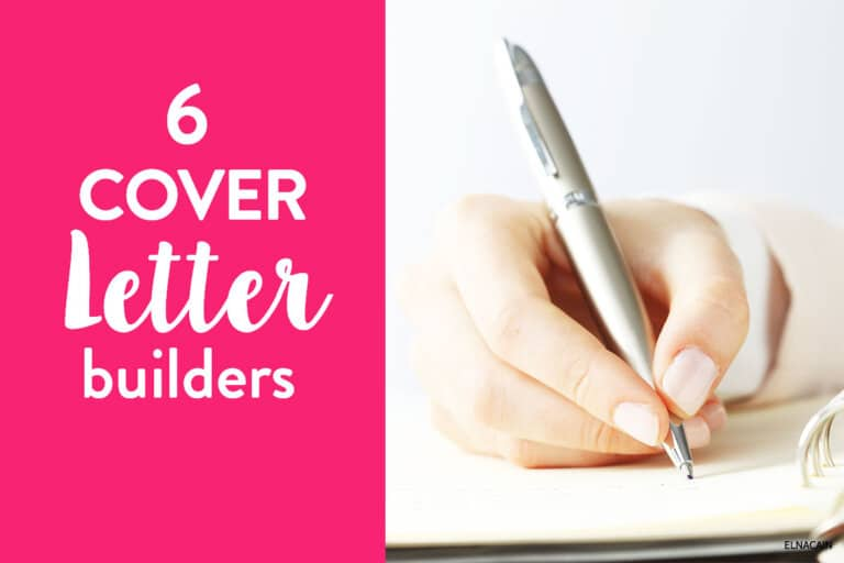 6 Cover Letter Builders for Landing a Freelance Writing Job in 2021