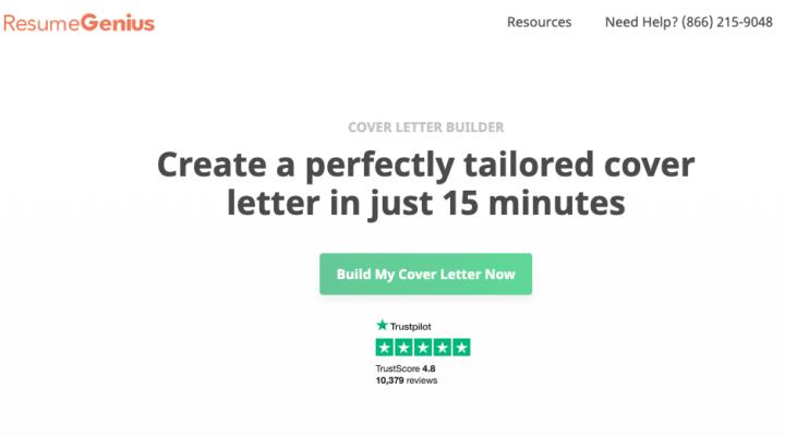 6 cover letter builders for landing a freelance writing