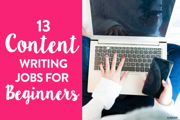 13 Content Writing Jobs for Complete Beginners