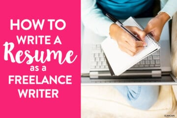 How to Write a Resume as a New Freelance Writer