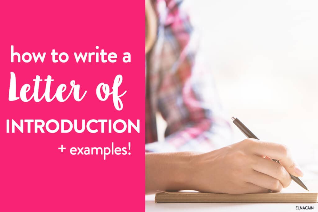 How to Write a Letter of Introduction: Your LOI Template