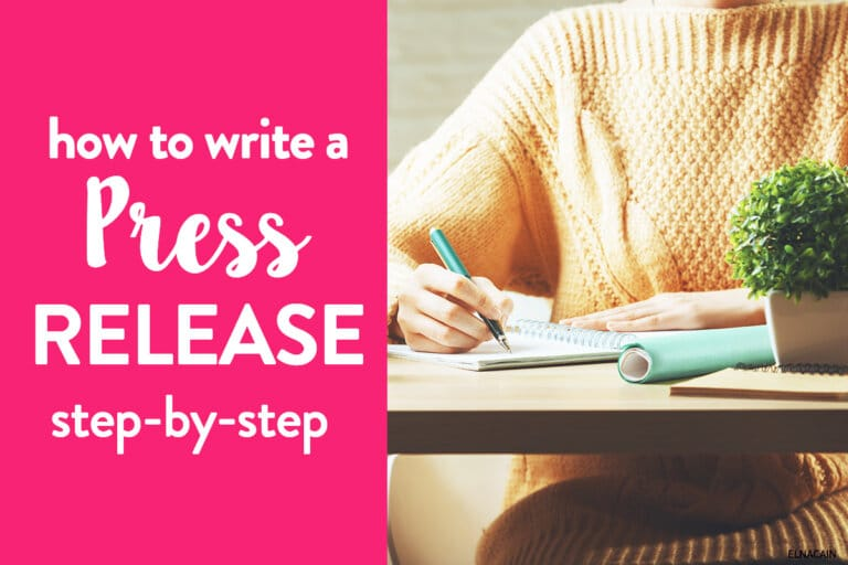 How to Write a Press Release Step-By-Step