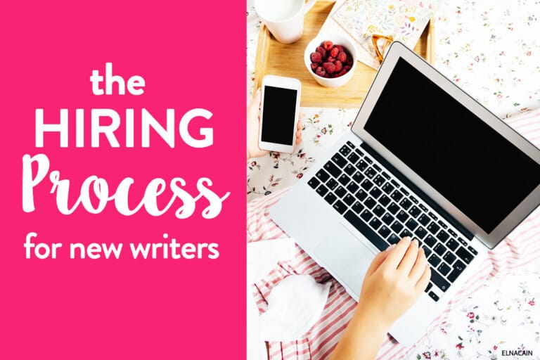 What Is the Hiring Process for Your First Freelance Writing Job?