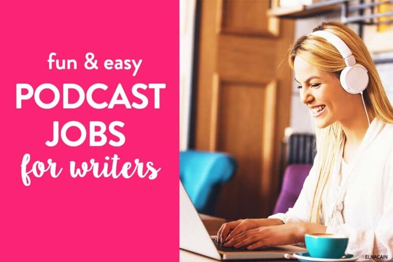 10 Podcast Jobs for Freelance Writers