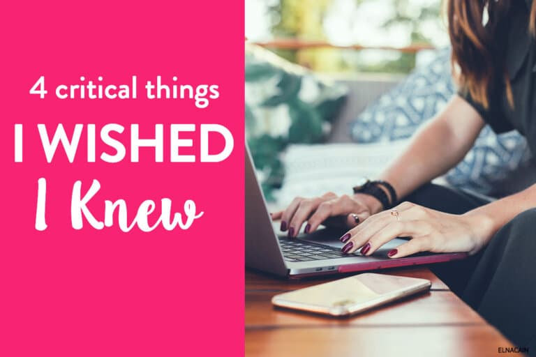 What I Wished I Knew as an Online Writer