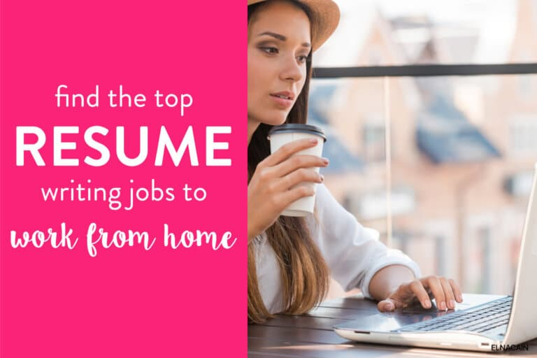 Top Resume Writing Jobs (That are Lucrative & Legit)