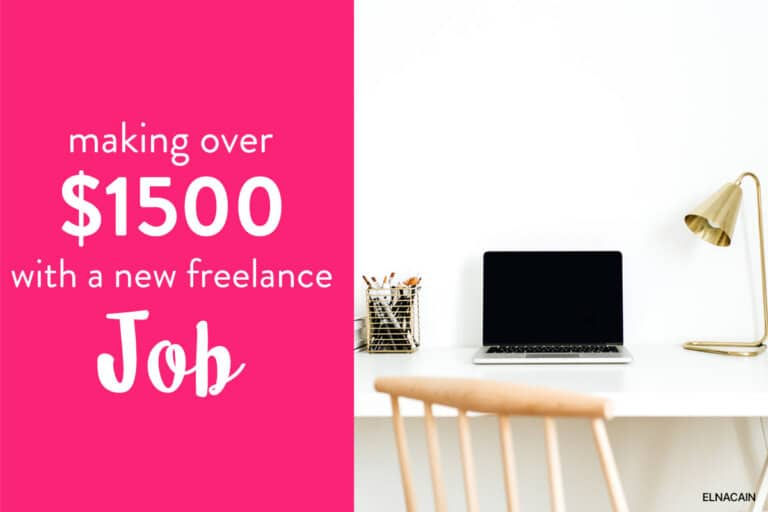 How I Made Over $1,500 From a New Freelance Writing Job in 2021 (Yes I Still Get Paid to Write)