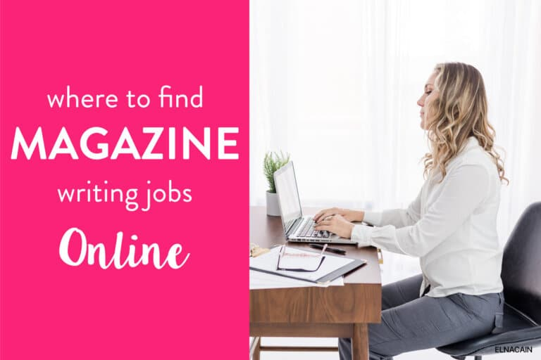 Where to Find Online Magazine Jobs for Writers